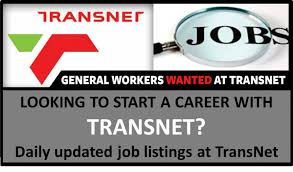 General Worker Opportunity at Transnet Kaalfontein