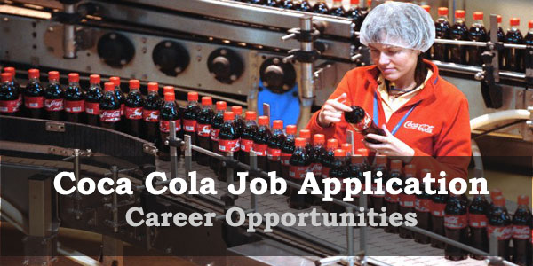 OPPOTUNUITY at Coca Cola Apply Online