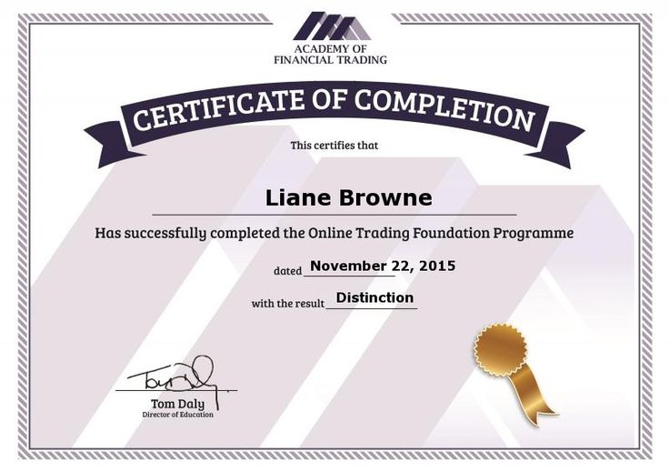 Free Diploma in Financial Trading This is Financial Self Empowerment