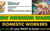 DOMESTIC WORKERS MIN WAGES