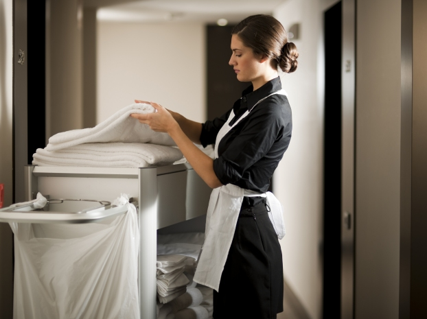 cleaning in hotels